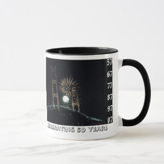 MightyMac_00, 57 67 77 87 97 07, Celebrating 50... Mug
