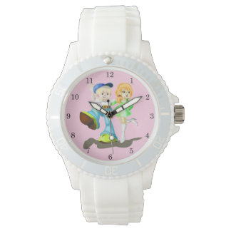 Migned 1 - Women's Sporty White Silicon Watch