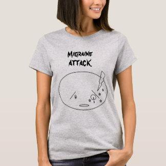 Migraine Attack Design T-Shirt