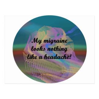 Migraine Aura Postcard
