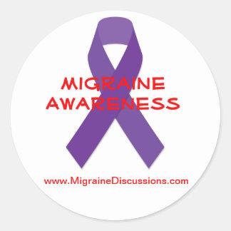 Migraine Awareness Sticker