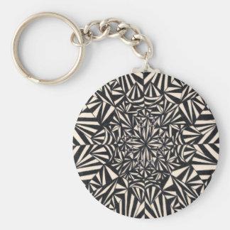 Migraine Design Keychain