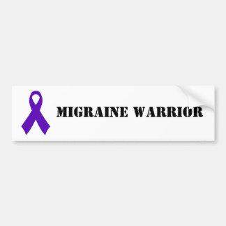 Migraine Warrior - bumper sticker