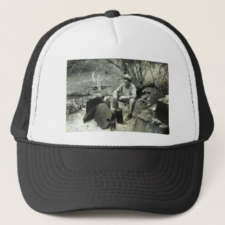 Migrant in Texas, 1939 Trucker Hat