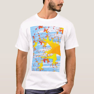 Migrating Autumn Leaves T-Shirt
