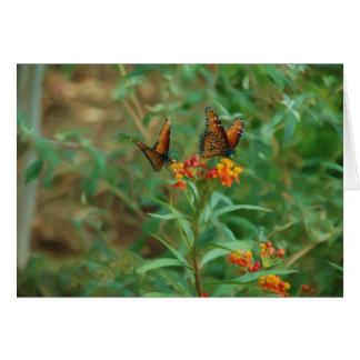 Migrating Monarchs Card