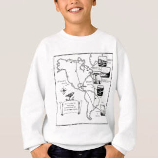 migrations of the golden plover sweatshirt