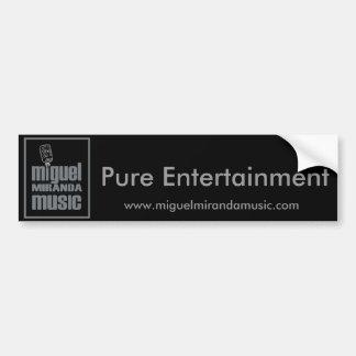 Miguel Music Bumper Sticker
