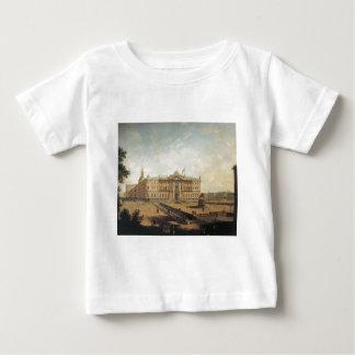 Mihailovsk castle by Vladimir Borovikovsky Baby T-Shirt