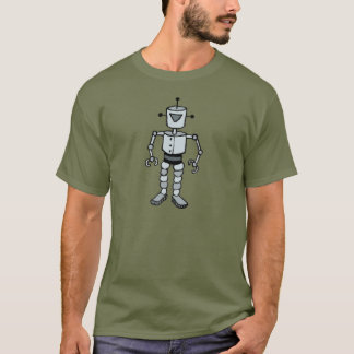 "Mihmiverse ""Danny Johnson Saves The World"" Robot T-Shirt"