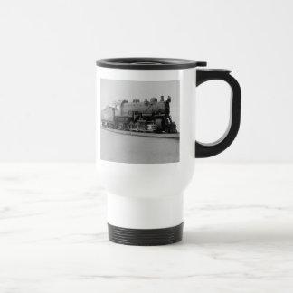 Mikado 2-8-2 Vintage Steam Engine Train Travel Mug