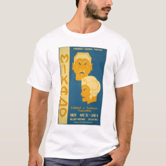Mikado Gilbert Sullivan 1939 WPA T-Shirt