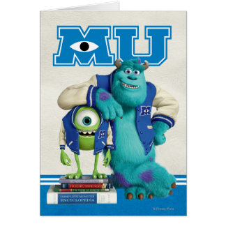 Mike and Sulley MU Card