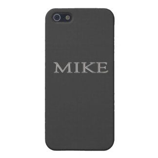 Mike Custom Name iPhone 5 Case