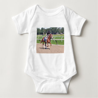 Mike Dilger Filly Baby Bodysuit