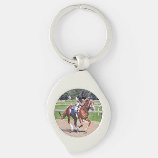 Mike Dilger Filly Keychain