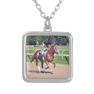 Mike Dilger Filly Silver Plated Necklace