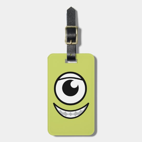 Mike Face Luggage Tag