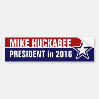 Mike Huckabee in 2016 Bumper Sticker