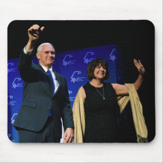 MIKE & KAREN PENCE MOUSE PAD