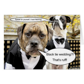 Mike & Molly's Wedding Card