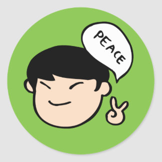 Mike Park Sticker (Green)