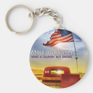 Mike Parrish Album Cover Collectibles Basic Round Button Keychain