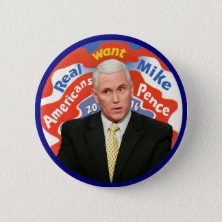 Mike Pence for President in 2016 2 Inch Round Button
