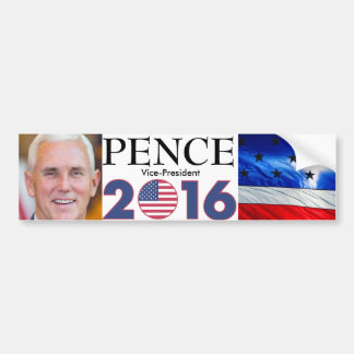Mike Pence - Vice President 2016 Bumper Sticker