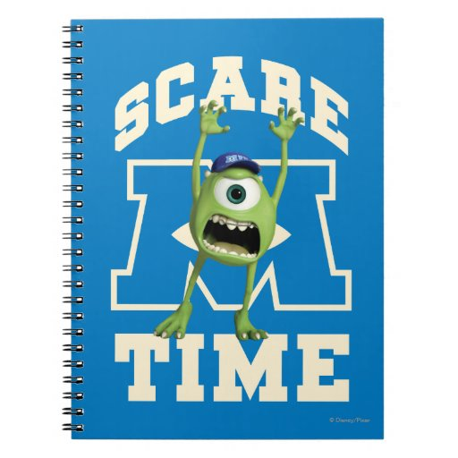 Mike Scare Time Spiral Note Book
