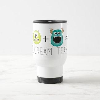 Mike+Sulley=Scream Team Travel Mug