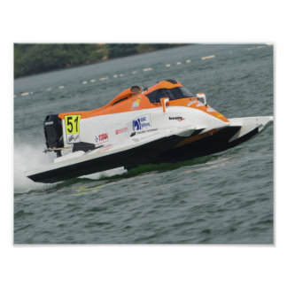 Mike Szymura F1 boat 2016 Poster