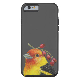 Mike the Western tanager iPhone 6/6s tough case