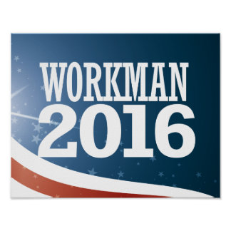 Mike Workman 2016 Poster