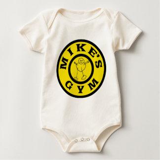 Mikes Gym Baby Bodysuit