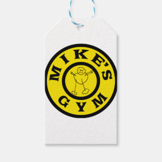 Mikes Gym Gift Tags