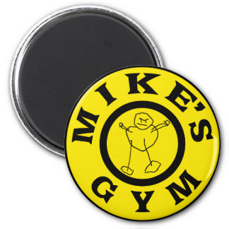 Mikes Gym Magnet
