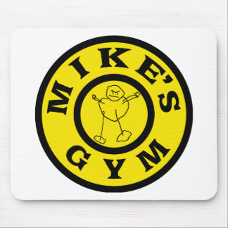 Mikes Gym Mouse Pad