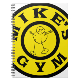 Mikes Gym Notebook