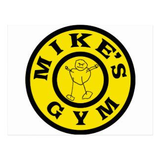 Mikes Gym Postcard