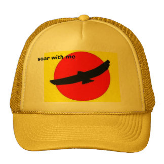 Mikes_ Pix, soar with me Trucker Hat