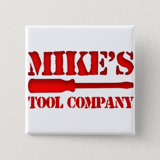 Mike's Tool Company 2 Inch Square Button