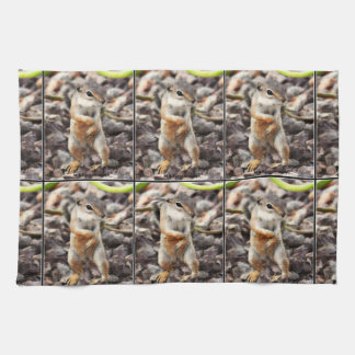 Mikey Ground Squirrel Kitchen Towel