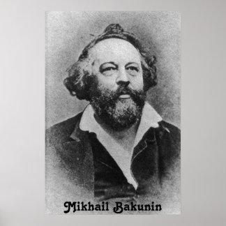 Mikhail Bakunin poster