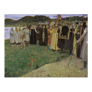 Mikhail Nesterov- Rus: The Soul of the People Postcard
