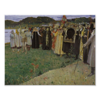 Mikhail Nesterov- Rus: The Soul of the People Poster