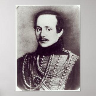Mikhail Yuryevich Lermontov Poster