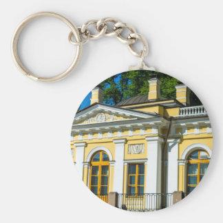 Mikhailovsky (Michael) Garden Basic Round Button Keychain