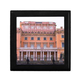 Mikhailovsky Palace Fontanka River Keepsake Box