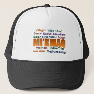 Mi'kmaq First nation Trucker Hat